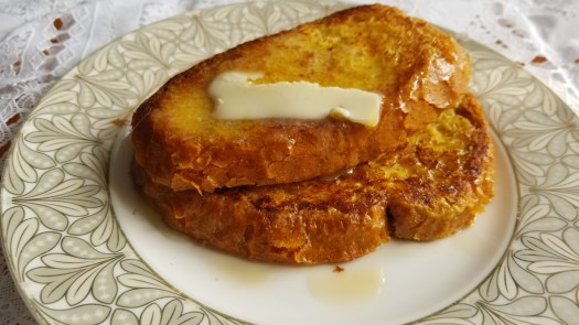 Left Over French Toast