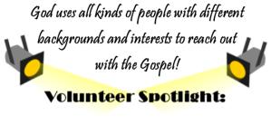 Volunteer sportlight
