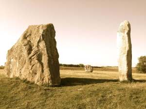 Avebury Stones--picture by Simeon Hein