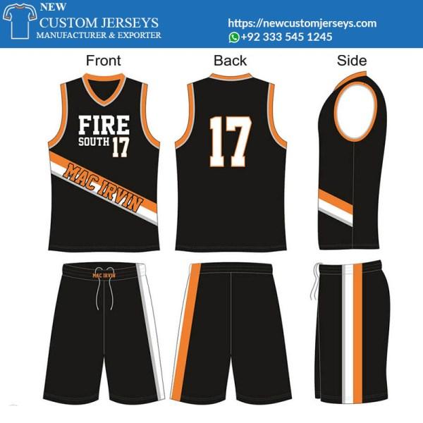 Reversible mesh basketball jerseys