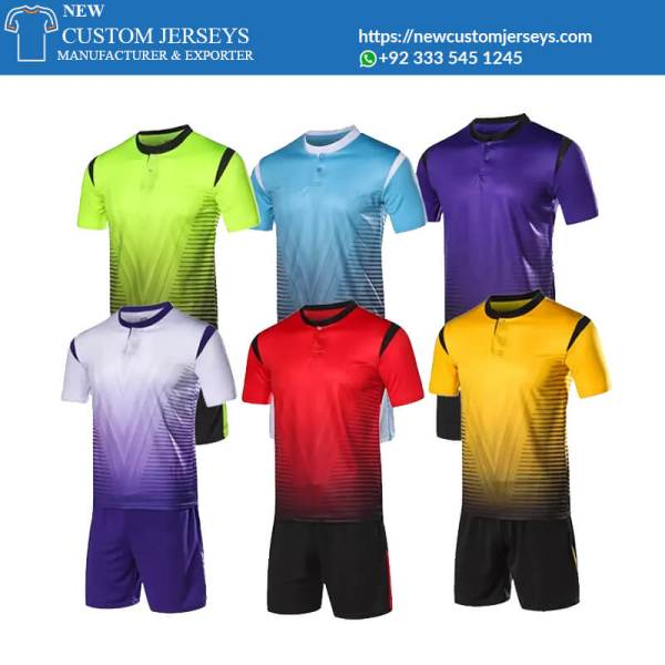 Soccer Uniforms Sublimated