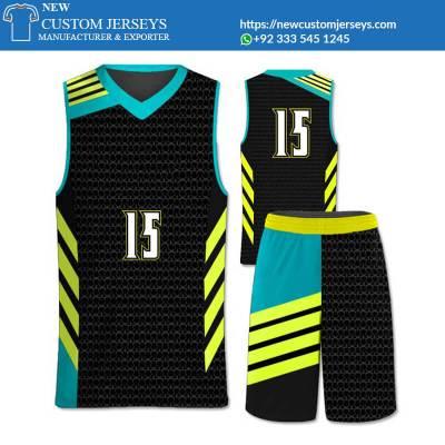 Sublimation basketball uniforms