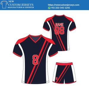 Sublimation soccer team jerseys