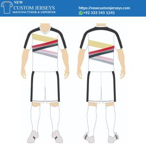 Team soccer jerseys