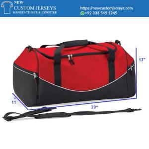 custaom made duffle bags