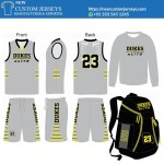 custom youth basketball uniform packages