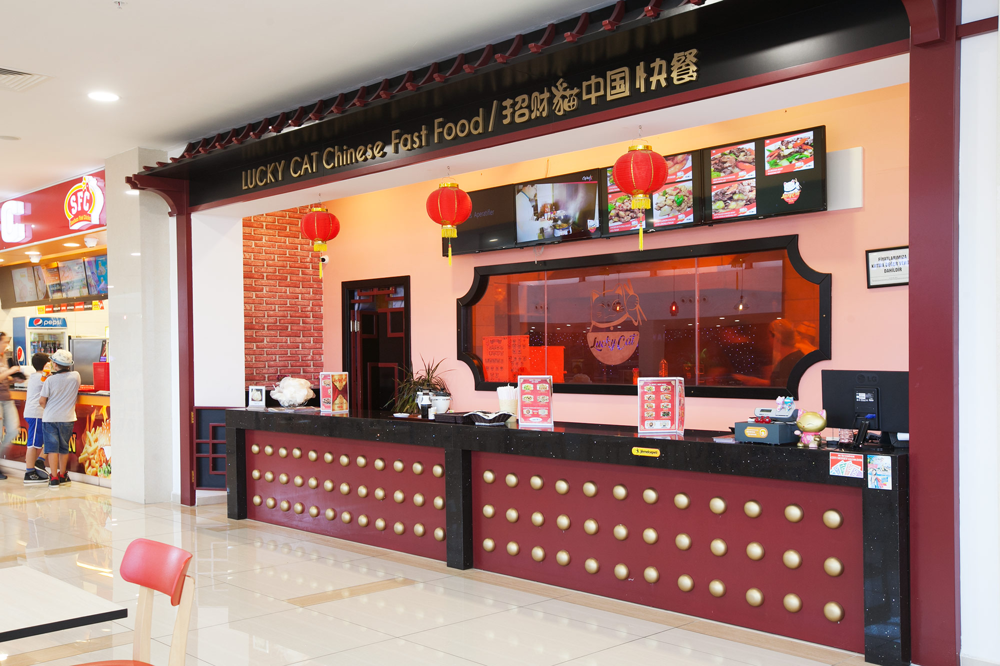 Lucky Cat Chinese Fast Food New Cyprus Guide