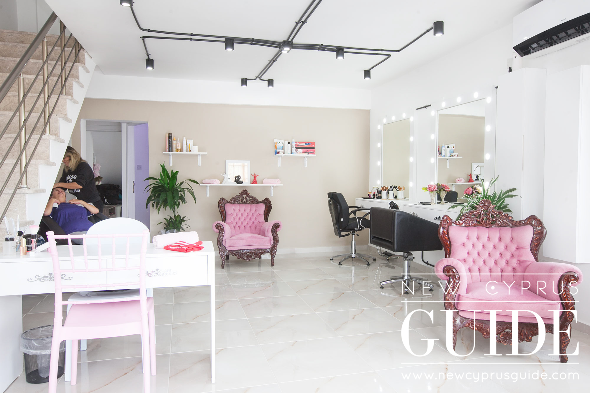 Black Amp Pink Luxury Beauty Salon New Cyprus Guide