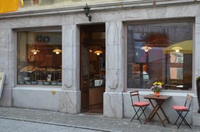 Tea Room in Montreux