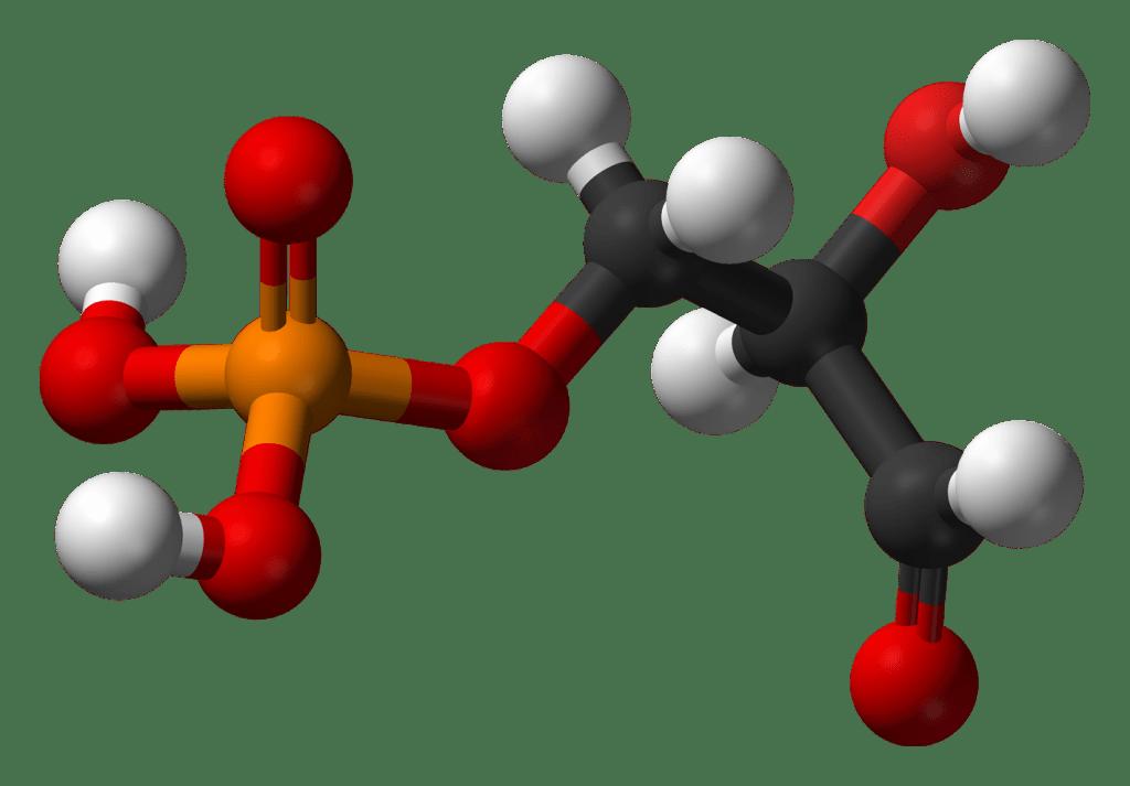 d-glyceraldehyde-3-phosphate-3d-balls
