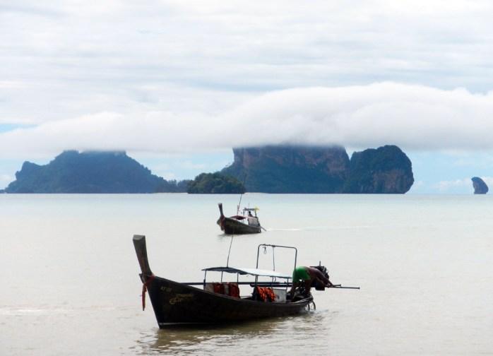 Clearing storm - Tonsai Beach, Thailand