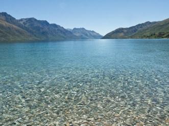 Summer day at Lake Wakatipu