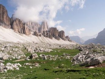 Ambling the valleys of Alta Via 1 in the Dolomites