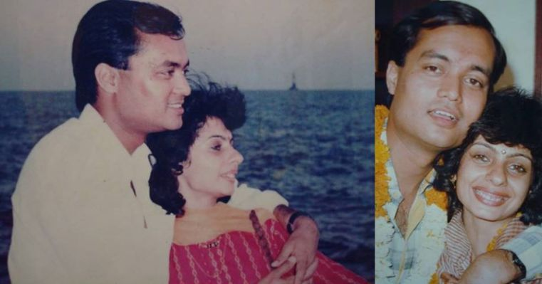 Priti and Joygopal, married