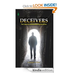 """Cover of """"Deceivers"""" by Joygopal Podder"""