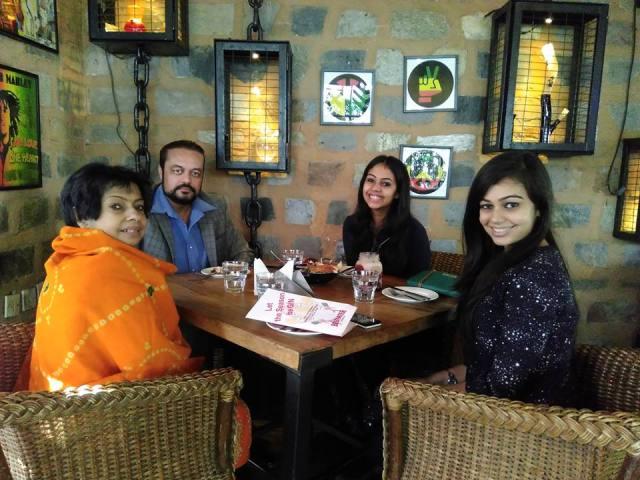 Lunch in Cyber Hub