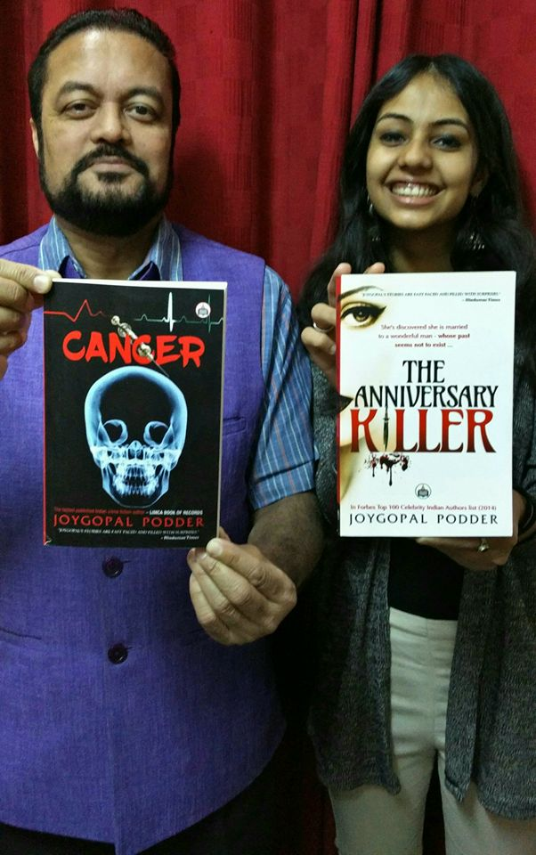 Two book releases Cancer and The Anniversary Killer