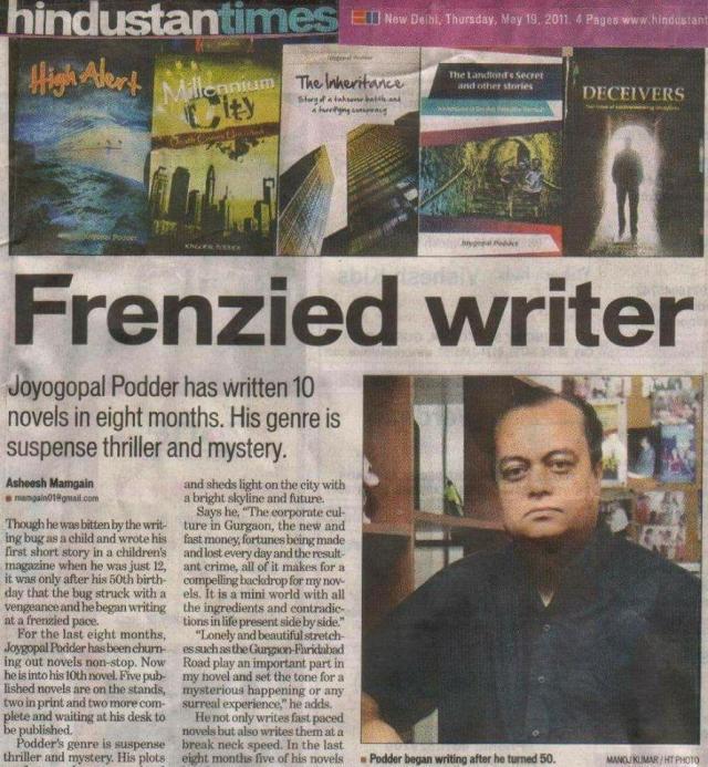 Joygopal Podder Frenzied Writer