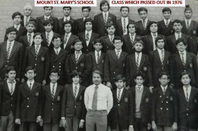 Joygopal Podder in Mount St Mary School