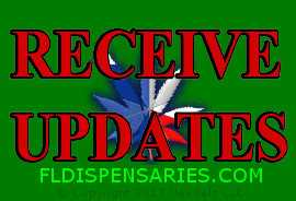 Sign up to receive updates & news regarding the Florida Marijuana Program