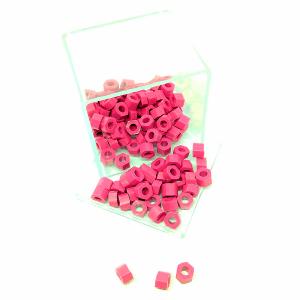 Marcador de Instrumento Sextavado com 100 Pink Rosa - Jon