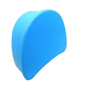 estojo para aparelho ortodôntico azul claro