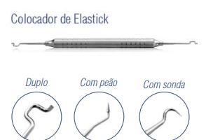 Colocador de Elastick Duplo Cabo 6mm -Harte