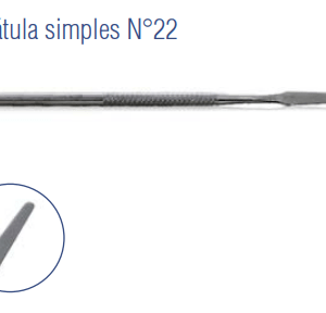 Espátula Simples N°22 -Harte