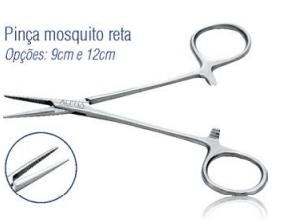 Pinça Mosquito Reta 9cm -Harte