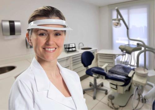 Face shield , Protetor Facial , Dental , Odontológico , Transparente