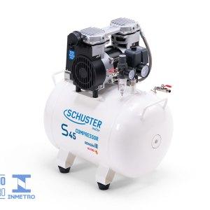 Compressor Odontológico Silencioso para 2 consultórios S45 - 1,2hp -Schuster