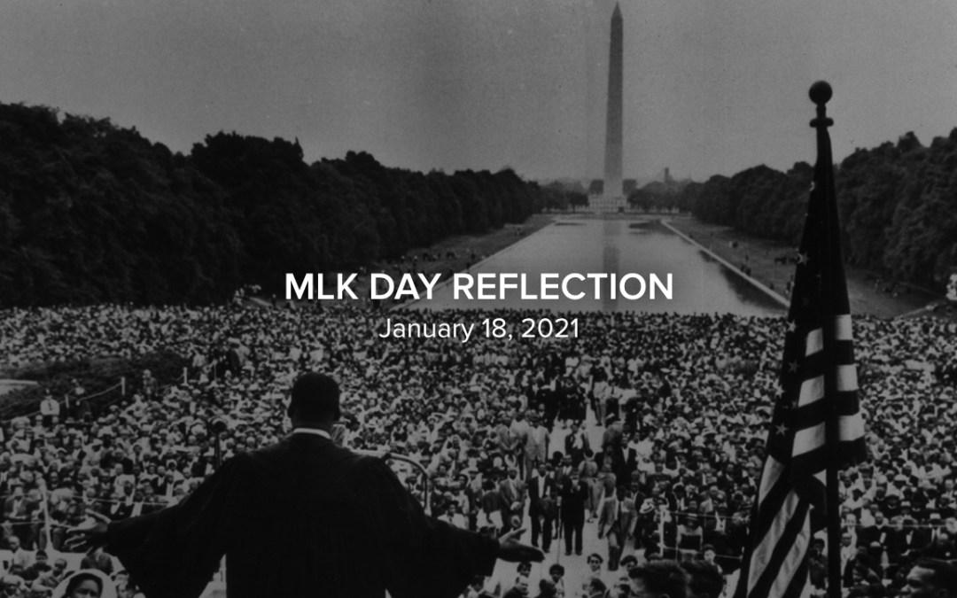 MLK Day Reflection (Norton Herbst)