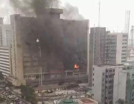 Federal Secretariat, fire fighters