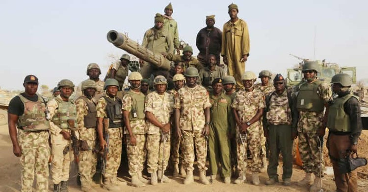 new General Officers Commanding, task force