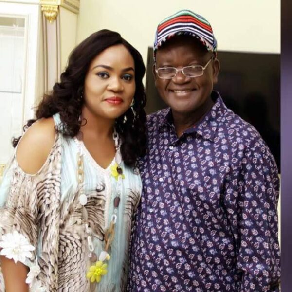 Governor Ortom's Wife, Son Test Positive For Coronavirus - The New Diplomat