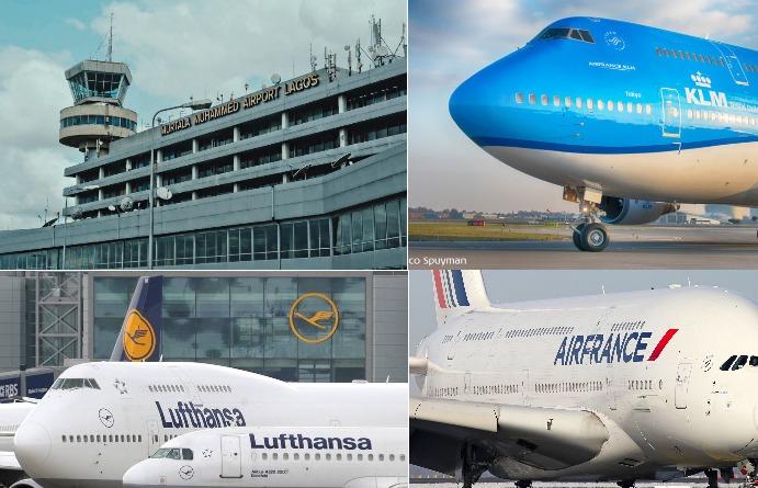 KLM Lufthansa Air France
