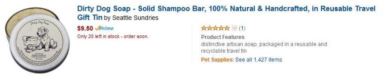 dog-soap