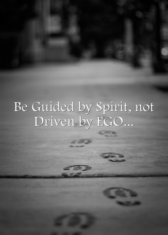 driven by ego