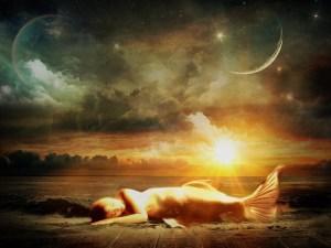 Mystical Mermaid Goddess