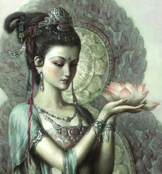 Quan Yin's Lavender Flame Reiki
