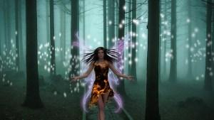 crystal faery shield
