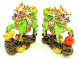 Chi Lin Dragon Horse Reiki