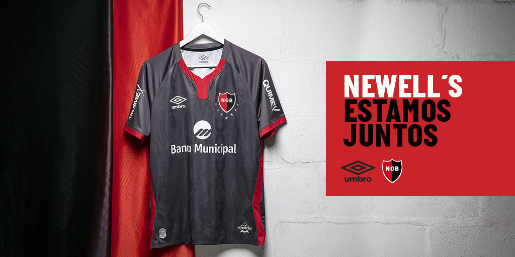 Newell's Old Boys third shirt unveiled by Umbro