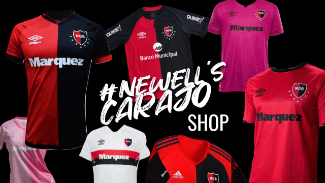 Visit the Newell's Carajo Shop
