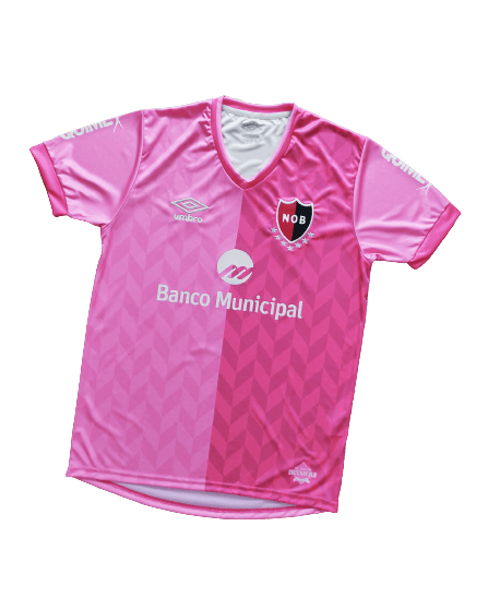 Newell's Old Boys Pink Shirt