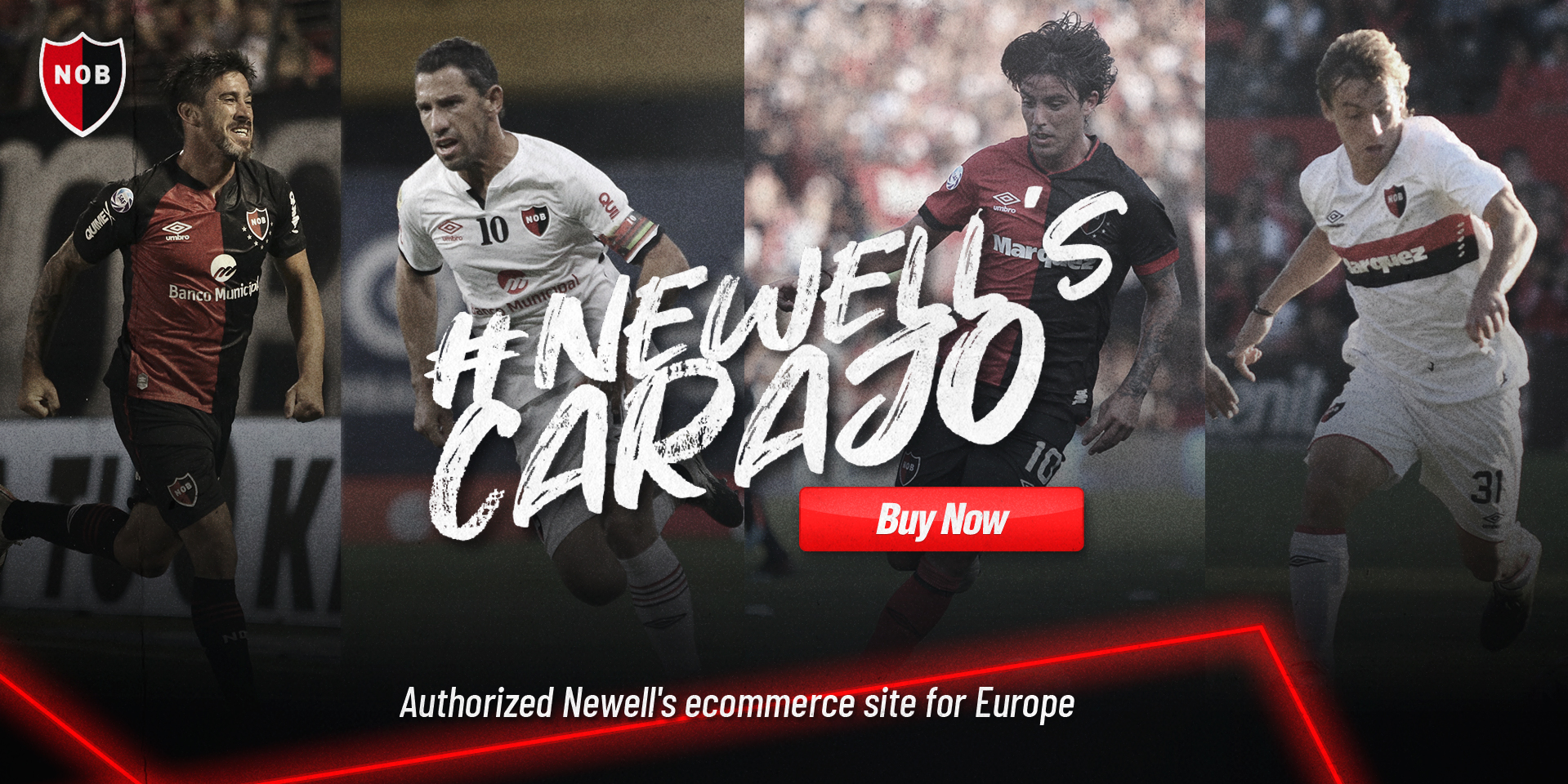 Buy Official Newell's Old Boys Shirts