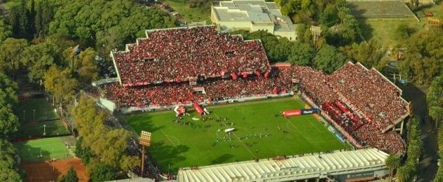 A full Estadio Marcelo Bielsa on a Newell's Old Boys matchday