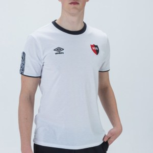 Round Neck Newell's Old Boys T-Shirt White Umbro