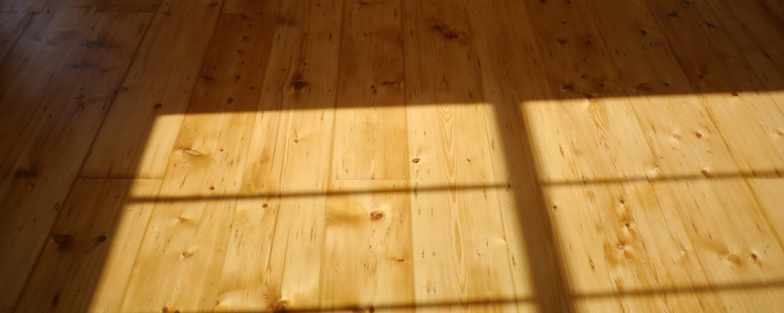 Georgian Islington pine floor sanded and finished with sunlight
