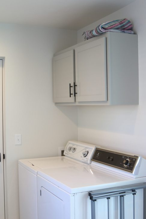 Modern Farmhouse Laundry Room in Nappanee, IN